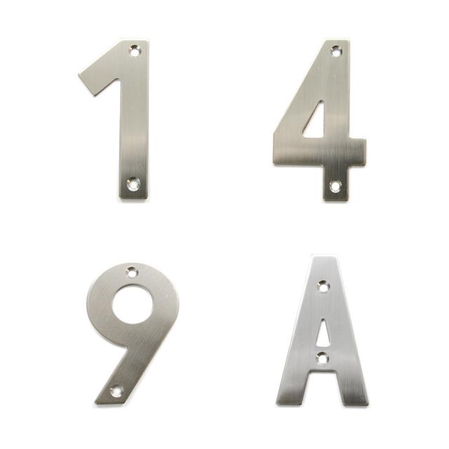 INOX BUILDING NUMBERS