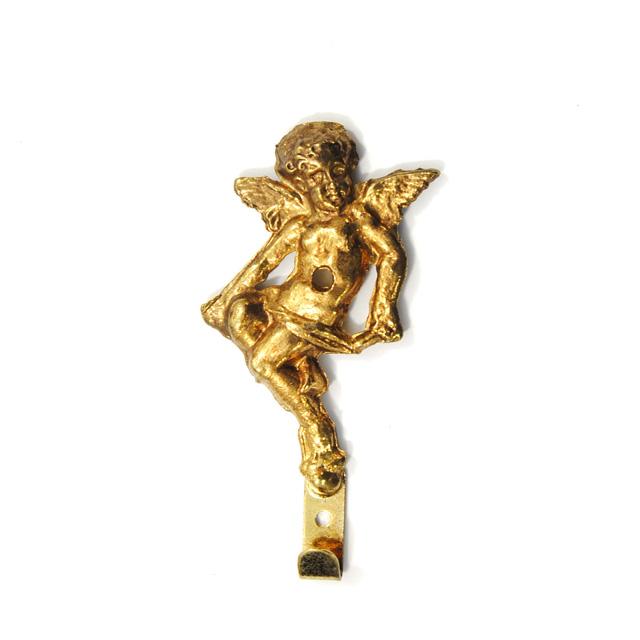 BRASS FRAME HANGER GOLD Q004