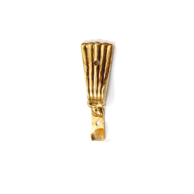 BRASS FRAME HANGER GOLD Q139