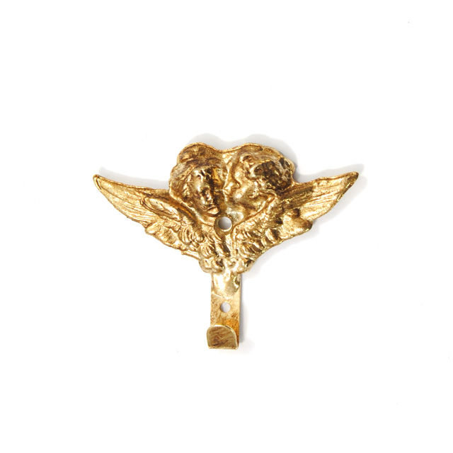 BRASS FRAME HANGER GOLD Q042
