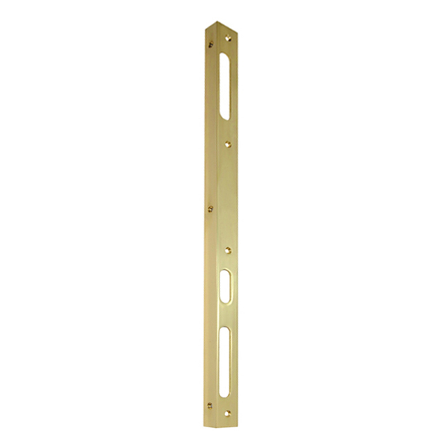 BRASS GOLD DOUBLE LEFT ANGULAR CONTRAST 50