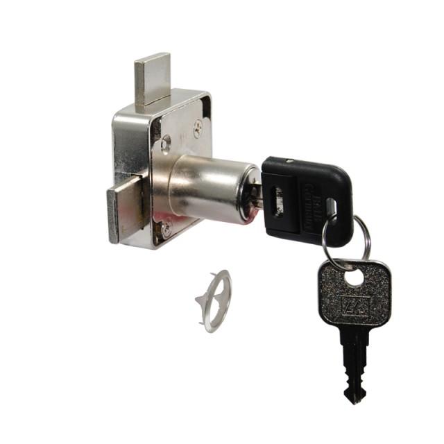FURNITURE LOCK FOR DOUBLE DOORS D.18x22mm / BODY