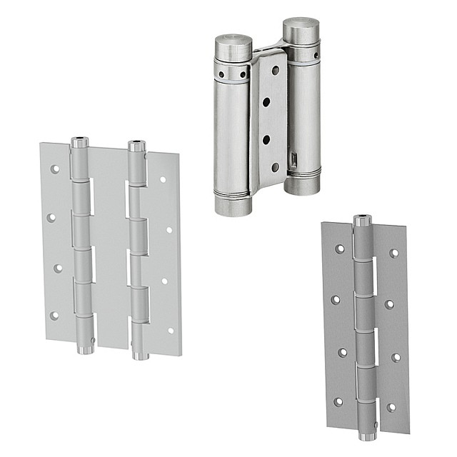 DOUBLE EFFECT HINGES