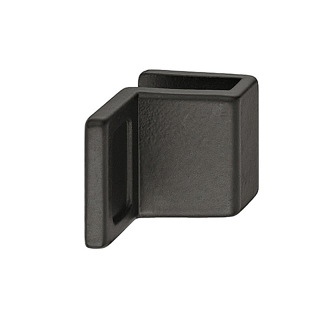 BLACK FURNITURE HANDLE FOR GLASS DOORS