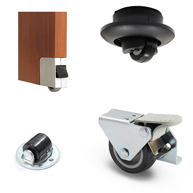 SIDE MOUNTED CASTERS / SPECIAL CASTERS