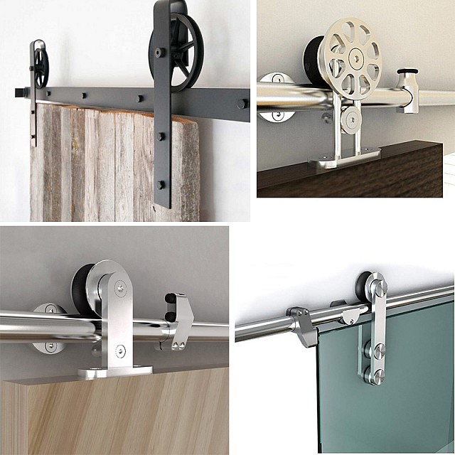 Barn Door Rails, Hardware