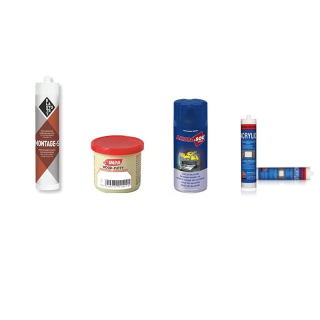 Adhesives, Sealers