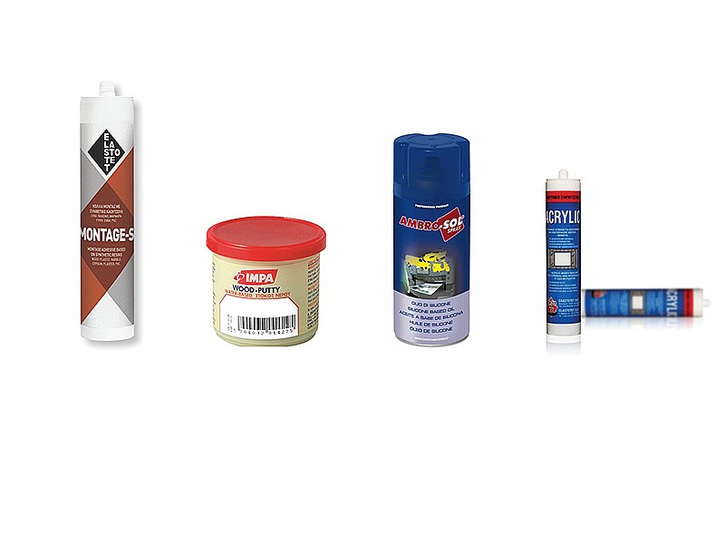 Adhesives, Sealers