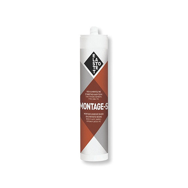 MONTAGE-S ADHESIVE 280ml CLEAR