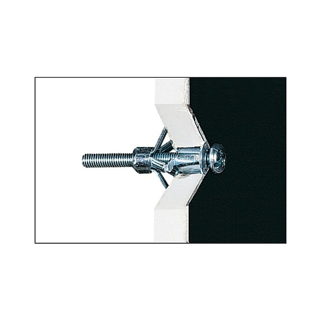 METALLIC ANCHOR FOR PLASTERBOARD M4x45