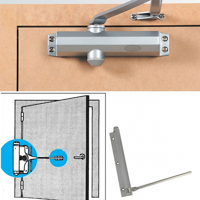 DOOR CLOSERS AND RETAINERS