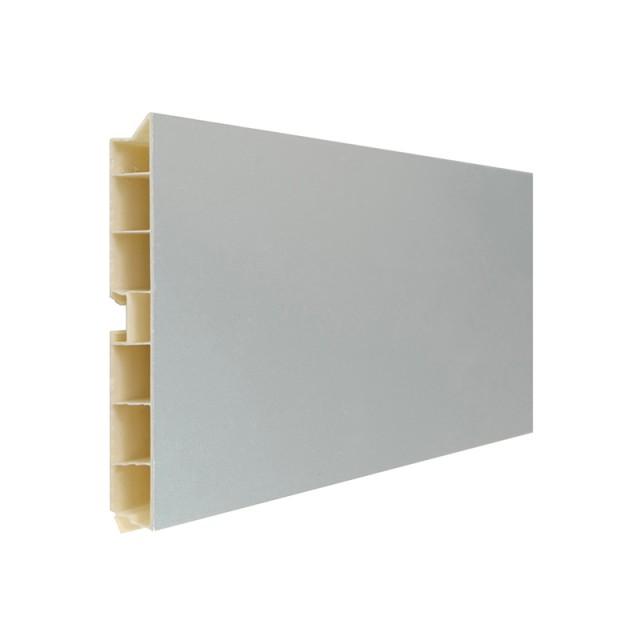 PLASTIC PLINTH ALUMINUM COATED B H.100