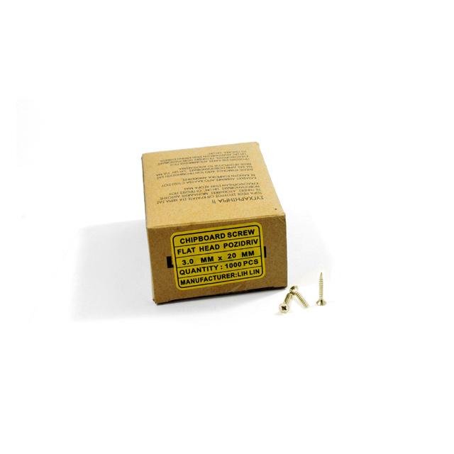 WOOD SCREWS LIH LIN 3,0x20 PZ1 GOLD