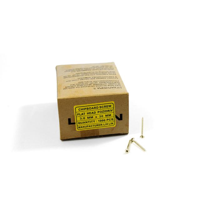 WOOD SCREWS LIH LIN 3,0x30 PZ1 GOLD