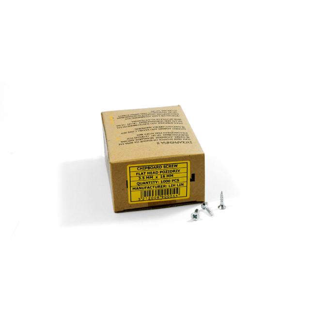WOOD SCREWS LIH LIN 3,5x16 PZ2 GALVANIZED