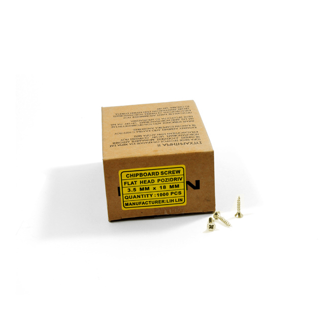 WOOD SCREWS LIH LIN 3,5x18 PZ2 GOLD