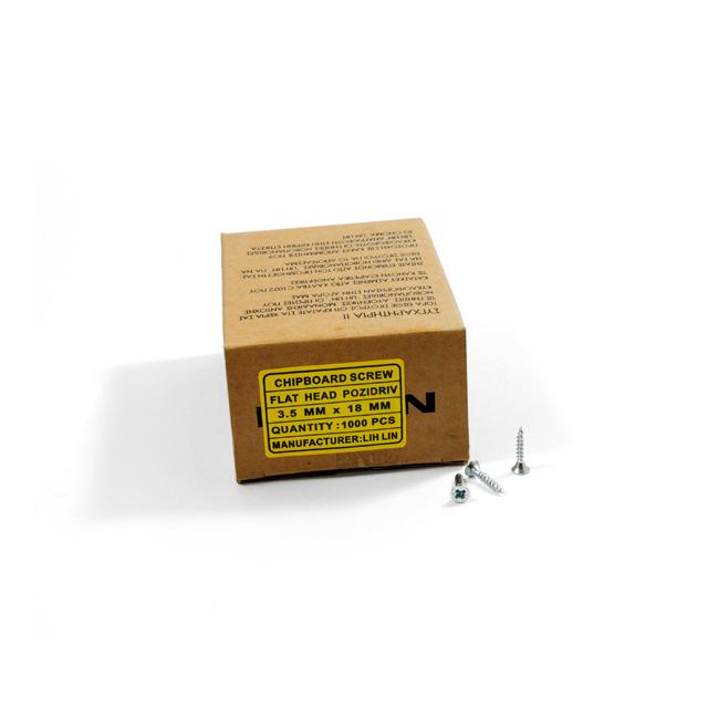 WOOD SCREWS LIH LIN 3,5x18 PZ2 GALVANIZED