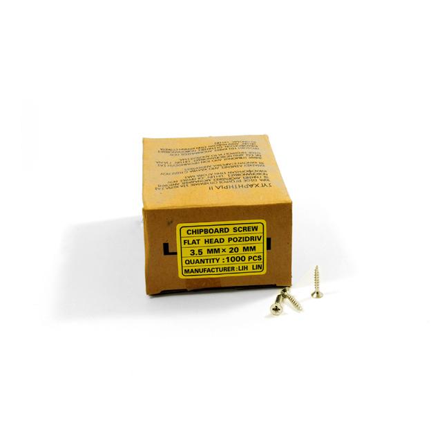 WOOD SCREWS LIH LIN 3,5x20 PZ2 GOLD