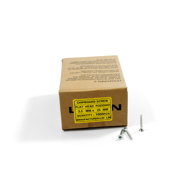 WOOD SCREWS LIH LIN 3,5x25 PZ2 GALVANIZED