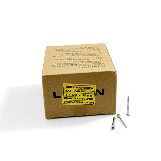 WOOD SCREWS LIH LIN 3,5x35 PZ2 GALVANIZED
