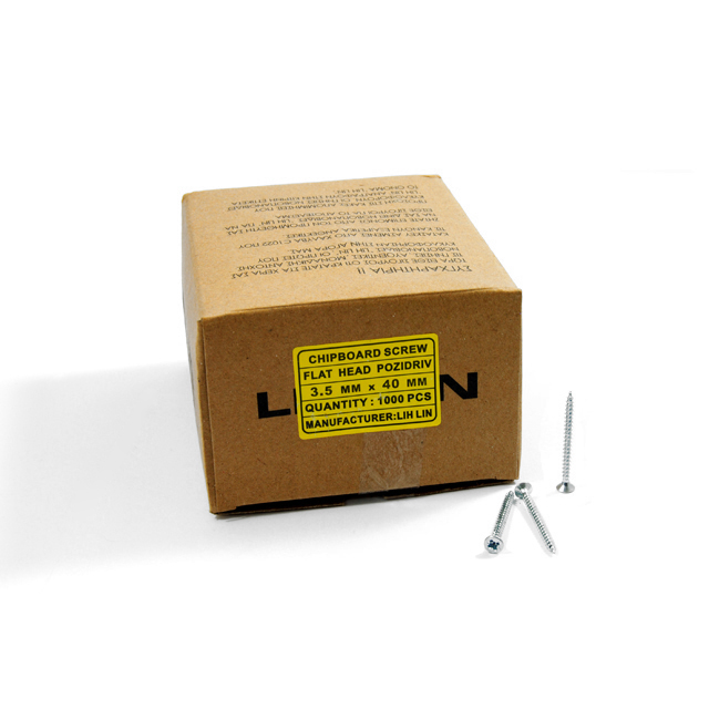 WOOD SCREWS LIH LIN 3,5x40 PZ2 GALVANIZED