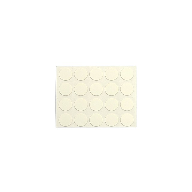 ADHESIVE HOLE COVER D.13 WHITE 1164