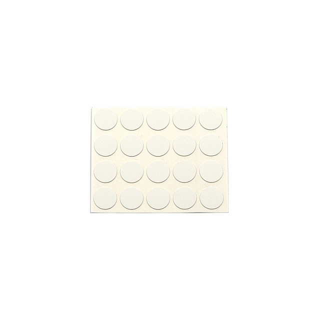 ADHESIVE HOLE COVER D.13 WHITE 13744V