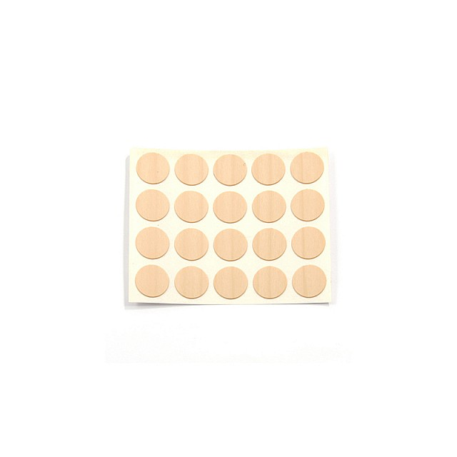 ADHESIVE HOLE COVER D.13 ASH 168