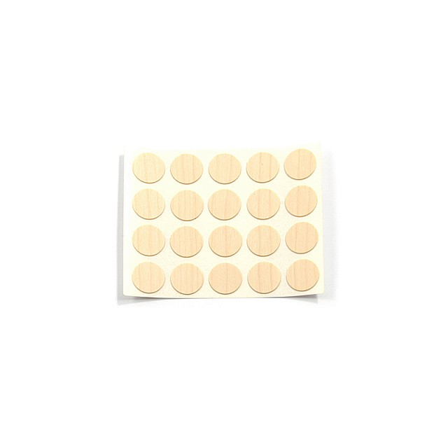 ADHESIVE HOLE COVER D.13 MAPLE 257