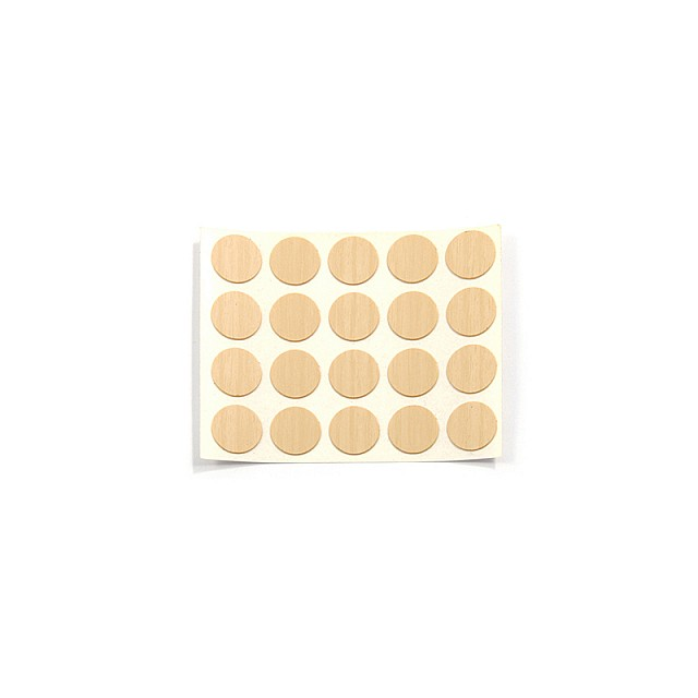 ADHESIVE HOLE COVER D.13 BIRCH 258