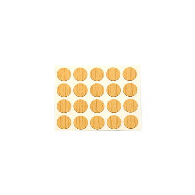 ADHESIVE HOLE COVER D.13 PINE 283