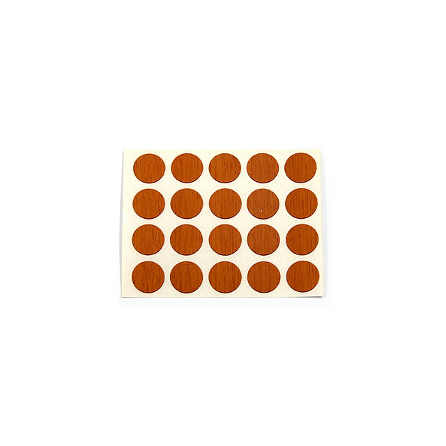 ADHESIVE HOLE COVER D.13 WALNUT 6078