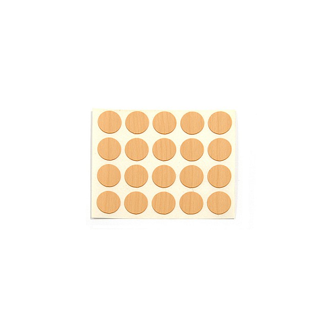 ADHESIVE HOLE COVER D.13 SYCAMORE 727