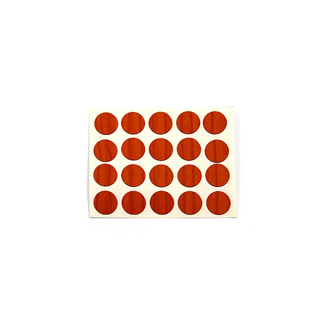 ADHESIVE HOLE COVER D.13 CHERRY 9019