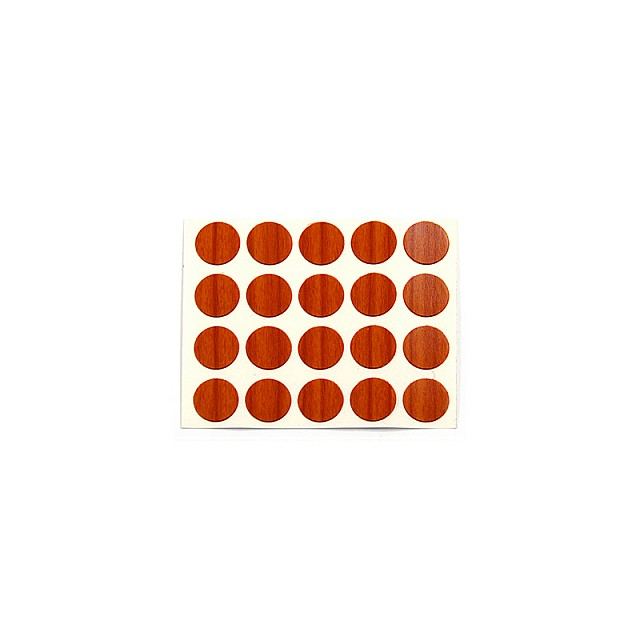 ADHESIVE HOLE COVER D.13 CHERRY 9049