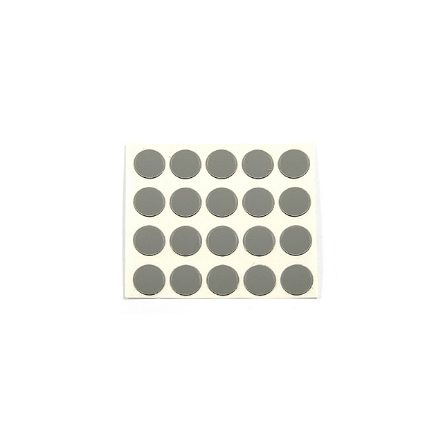 ADHESIVE HOLE COVER D.13 GREY 93873