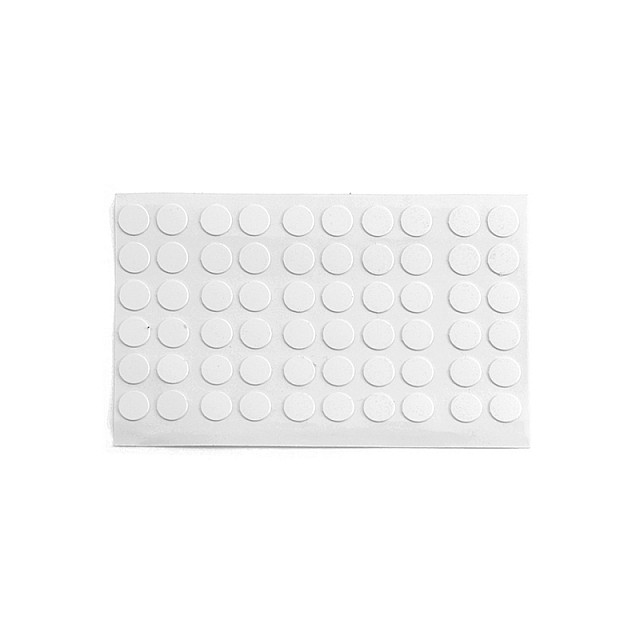 ADHESIVE HOLE COVER D.9 WHITE 13744V