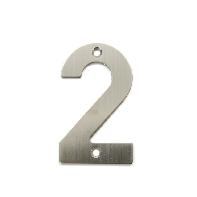 STAINLESS STEEL HOUSE NUMBER / 2