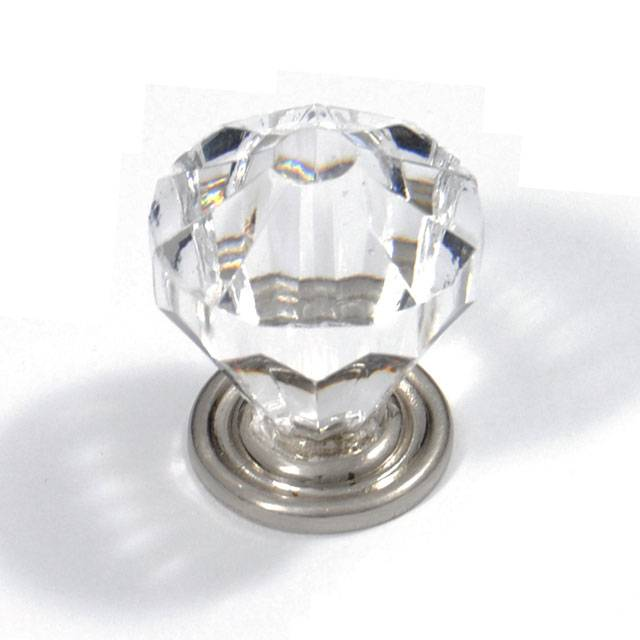 R487 TRANSPARENT FURNITURE KNOB