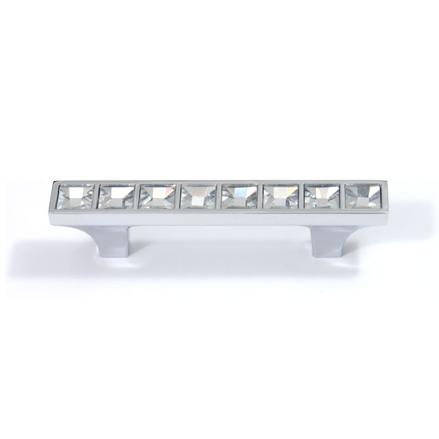 R954 CHROME CRYSTAL FURNITURE HANDLE