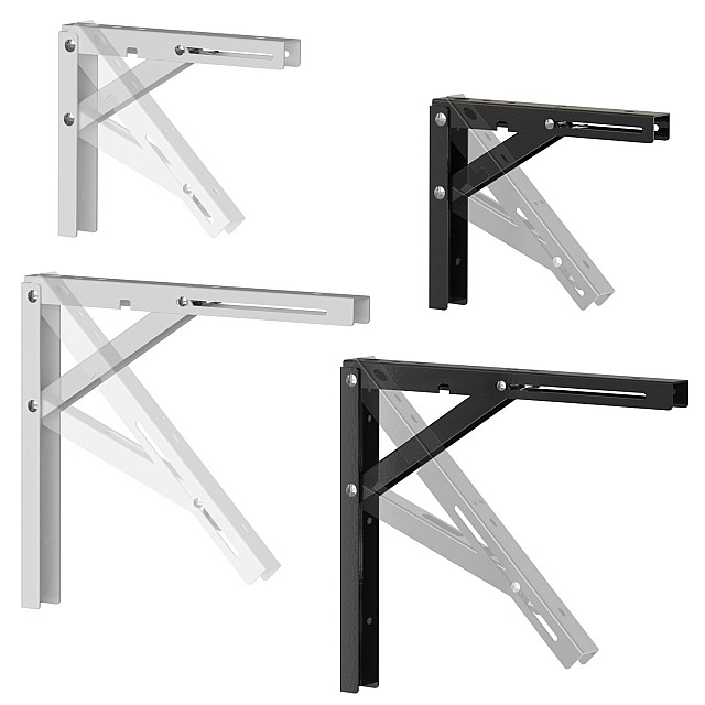 HEAVY DUTY FOLDING BRACKETS