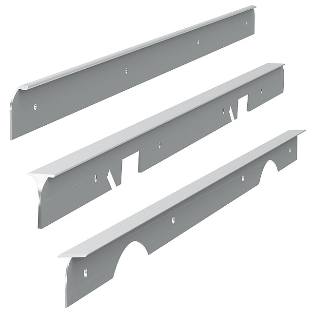 WORKTOPS JOINING STRIPS-CORNER JOINTS-END CAPS