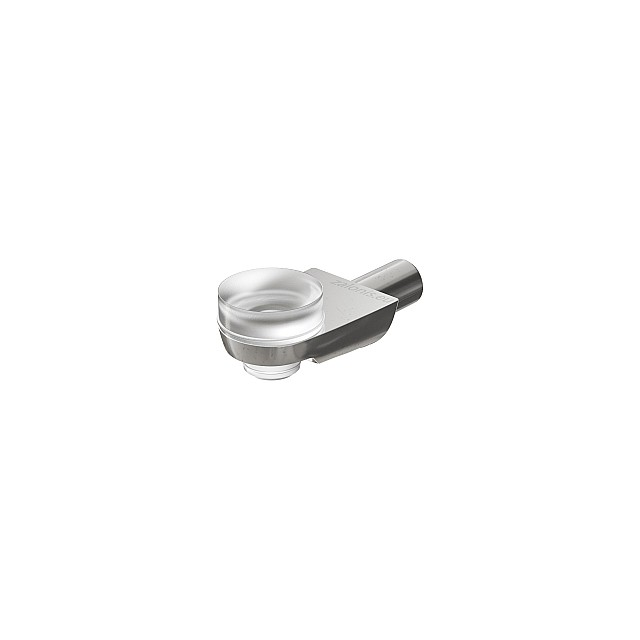 PLUG-IN SHELF SUPPORT WITH SUCTION CUP, D.5 / NICKEL