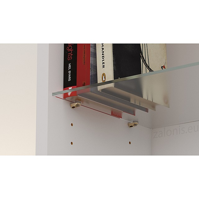 PLUG-IN SHELF SUPPORT WITH SUCTION CUP, D.5 / GOLD
