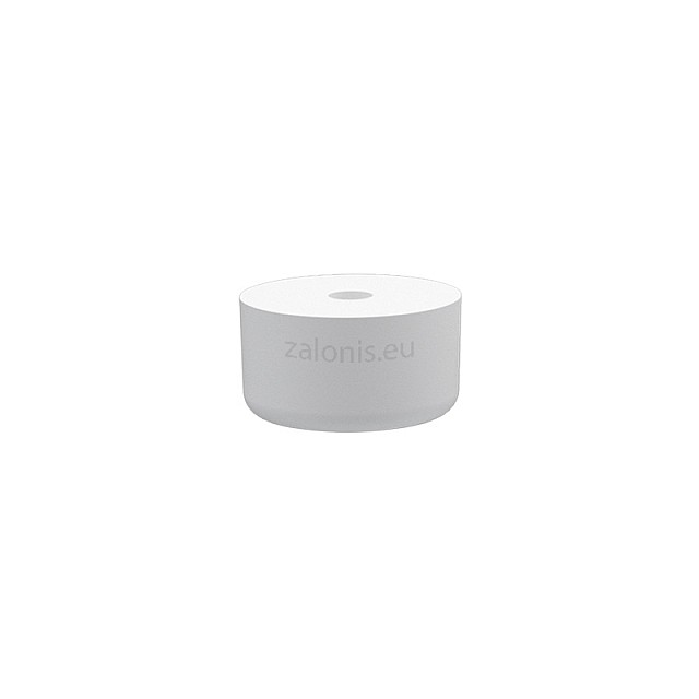 RUBBER FURNITURE PAD D26 H15mm / WHITE