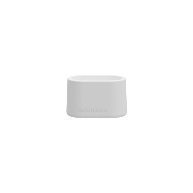 OVAL EXTERNAL LEG CAP PVC / 30x15 / WHITE