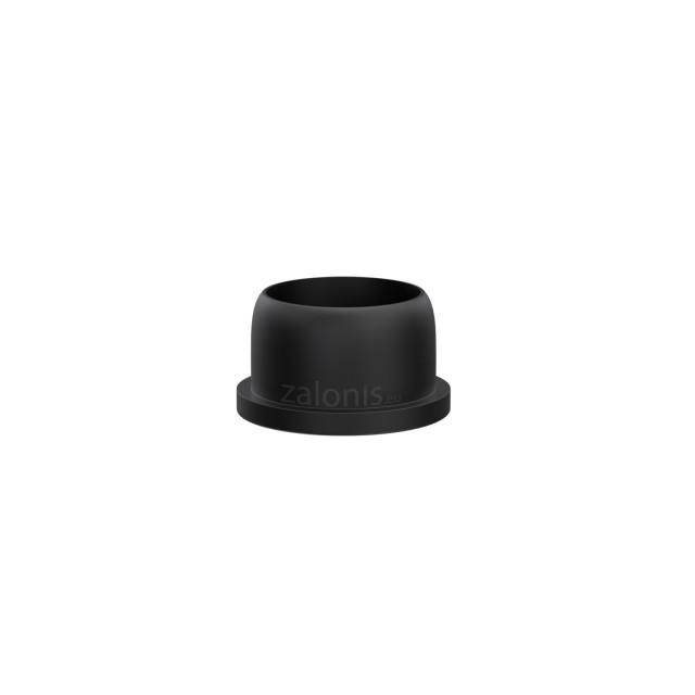 ROUND FLAT-SHAPE END TUBE INSERT / D.28 TUBE / INT D.26 / BLACK