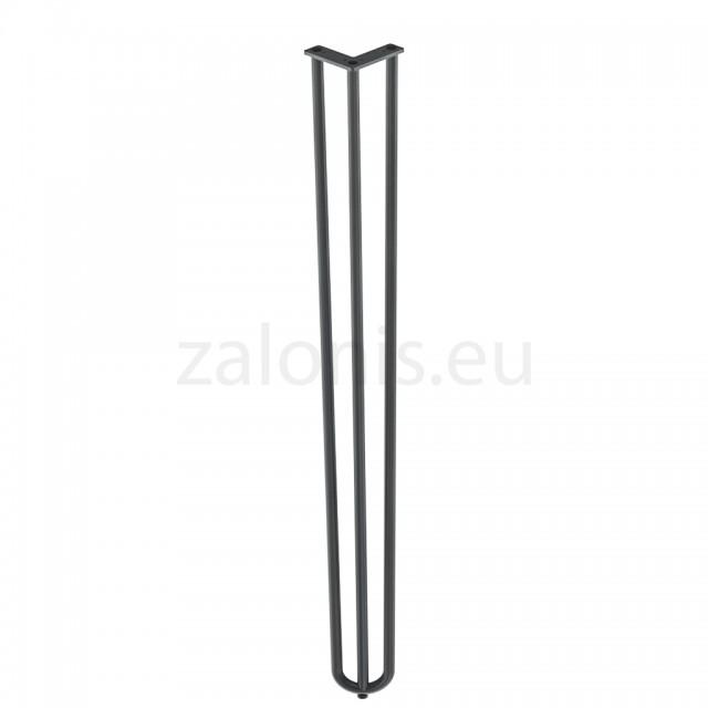 3 ROD HAIRPIN LEG H.82cm / BLACK