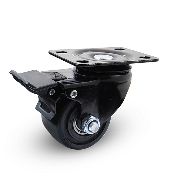 HEAVY DUTY ROTATING CASTER WITH BRAKE - D.65