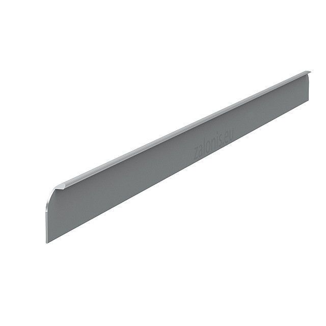 KITCHEN WORKTOPS ALUMINIUM END CAP / 3x64cm